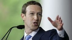 Zuckerberg supports a law in the US for political announcements - Politica New President, Running For President, Raised Eyebrow, Swing State, Best Careers, Latest World News, For Facebook, Us Presidents, Successful People