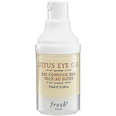 Fresh Lotus Eye Gel: Eye Cream   Sephora