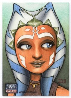 ahsoka_tano___galaxy_7_artist_proof_by_erik_maell