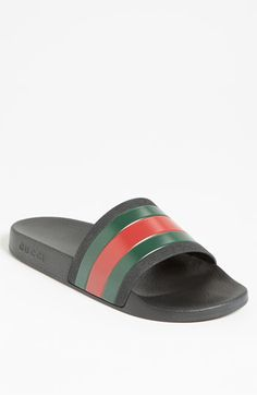 39eabe1c44f17c Gucci Pursuit Rubber Slide Sandal (Men)