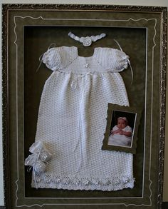 Framed Blessing Dresses is one of our specialties.
