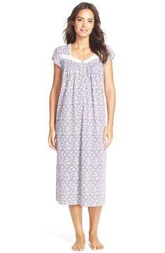 dbffc1860c Eileen West  Berry Patch  Print Cotton Blend Ballet Nightgown Nighty Night