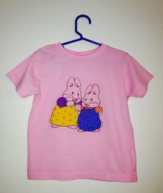 Max & Ruby Shirt, Max Ruby T-shirt, Bunny Shirt Size 5/6 by ResouledGypsy on Etsy
