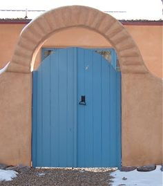 "Two Graces Taos: ""The Secret of Taos Blue Doors"" Robert Cafazzo (copyright 2011)"