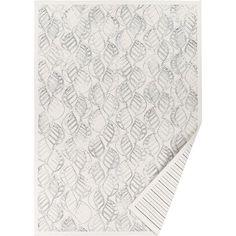 Biały dywan dwustronny Narma Niidu, 70x140 cm