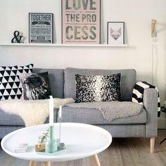 Love the account of Rikke of @thatnordicfeeling  | #inspo #interior #interiorblog #interiordecor #interiordesign #homedecor #home #housedesign #scandi #scandihome #scandinavian #propertystyling #pastel #pictureledge #ikea #cushions #homewares