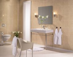 Tiling is a great way to add a new fresh look to your bathroom. However, recently bathroom wall panels have become very popular as a great alternative to tiles. Bathroom Vanity, Paneling, Bathroom, Lighted Bathroom Mirror, Bathroom Wall Panels, Wall Panels, Wall, Bathroom Mirror, Home Decor