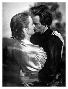 Sam Shepard and Jessica Lange by Bruce Weber for Vanity Fair, 1984