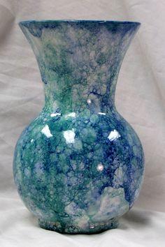 $45.00 Serene Textured Bubble Vase by EarthArtsofLB on Etsy
