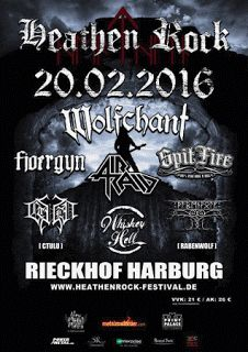 New-Metal-Media der Blog: News Heathen Rock Festival