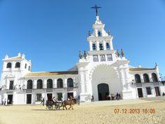 Ermita del Roció en Ayamonte-En Doñana