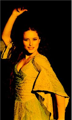 Lola Ponce as Esmeralda - Italian version of Notre Dame De Paris