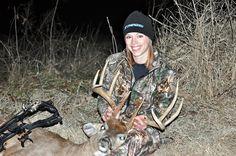 My late-season buck http://www.womensoutdoornews.com/2014/03/late-season-buck/ Hunting, shooting, fishing and adventure for women by women whitetail