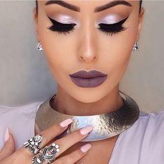 Amrezy wearing Gerard Cosmetics liquid lipstick in Gravity