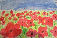 Primary Art Ideas and Examples - You Pinspire Me 3rd Grade Art, Grade 2, Remembrance Day Art, Seasons Activities, Anzac Day, Art School, School Stuff, 3 Arts, Veterans Day