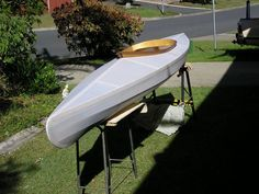 PBK 27 SOF kayak, covered but before painting/coating
