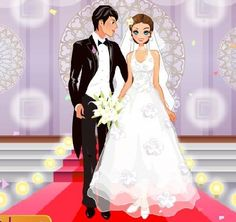 dress up games for teens wedding