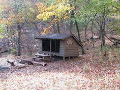 Appalachian trail deer lick cabin