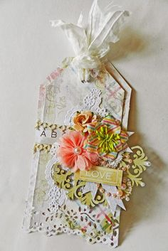 Erin Blegen: My Scrap Cabin: A Layout, a Card, and a Tag~!