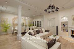 Дизайн интерьера таунхауса в Павлово 2 на Новорижском шоссе, дизайн интерьера дома на новой риге