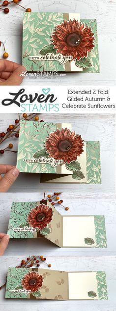 Stampin Up, Handmade Birthday Cards, Greeting Cards Handmade, Handmade Fall Cards, Handmade Tags, Handmade Crafts, Fancy Fold Cards, Folded Cards, Unique Cards