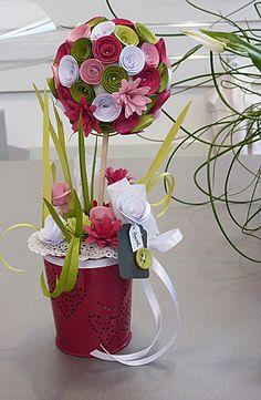 bouquet tissu