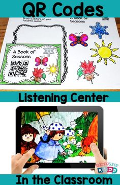 QR Code Listening Center. This set of March themed QR Codes for the classroom have 20 read aloud stories that come with response sheets and more!