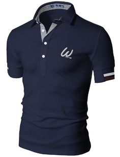 Mens Casual Short Sleeve Point Polo T-shirt T Shirt Polo, Mens Polo T Shirts, Golf Shirts, Mens Designer Shirts, Designer Clothes For Men, Best Suits For Men, Camisa Polo, Modern Outfits, Fashion Pants