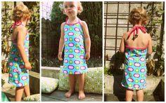 zomerkleedje: gratis patroontje de droomfabriek Lillestoff Scandifruit.