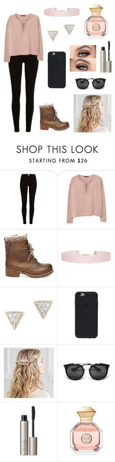 """""""~throwin shade~"""" by simone89 ❤ liked on Polyvore featuring River Island, MANGO, Steve Madden, Humble Chic, Adina Reyter, Prada, Ilia and Tory Burch"""