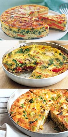 Kitchen Recipes Home Recipes Gourmet Recipes Pasta Recipes Salad Recipes Dessert Recipes Cooking Recipes Chicken Pasta Food Dishes Easy Healthy Recipes, Vegetarian Recipes, Easy Meals, Cooking Recipes, Good Food, Yummy Food, Frittata, Food Photo, Food Dishes