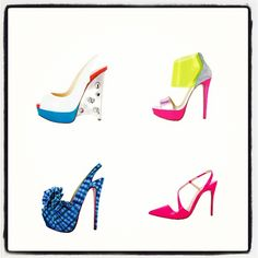 Fishing for #louboutins #SS2013 @LouboutinWorld