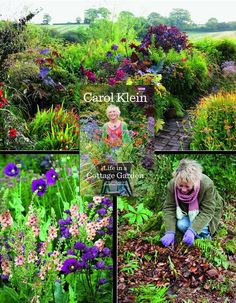 Carol Klein- Life In A Cottage Garden - watch the series free on YouTube showing life in a UK garden through an entire growing year. It's wonderful!