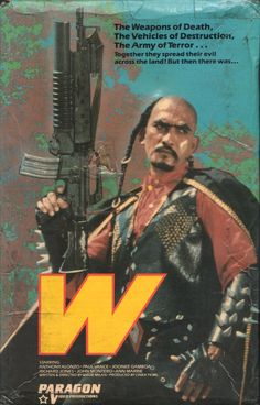 "vhscoverjunkie: ""W (1983) """