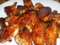 Yummy chinese chicken wings from the beautiful book The Complete Asian Cookbook by Charmaine Solomon.