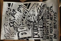 Vintage Punk DOA TSOL CRUCIFIX ALTERNATIVE UNDEAD Concert Flyer POSTER  8.5x14in