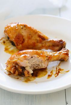 """6 minutes to skinny - Sticky Baked Chicken with Apricot, Sage and Lemon Zest - Watch this Unusual Presentation for the Amazing to Skinny"""" Secret of a California Working Mom Baked Chicken, Chicken Recipes, Roasted Chicken, Sticky Chicken, Skinny Recipes, Healthy Recipes, Healthy Meals, Free Recipes, Ww Recipes"""