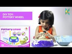 Imaginative Arts POTTERY WHEEL Game, Learn How to Educational Toy (DIY Pottery…