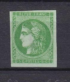 France  Catalogue no (AFA) 39  Value Dkk. 2.500