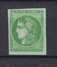 France  Catalogue no (AFA) 39  Value Dkk. 2.500