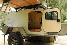 expedition trailers take camping off-road - Images Camping Glamping, Outdoor Camping, Outdoor Fun, Outdoor Gear, Camping Survival, Camping Gear, Survival Skills, Bug Out Trailer, Rv Trailer