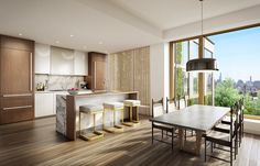 The interior of the 75 Kenmare project is a reflection of Kravitz Design founder's eclectic lifestyle.