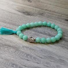 Rare vibrant blue Apatite bracelet to embrace Joy and Raise Vibrations