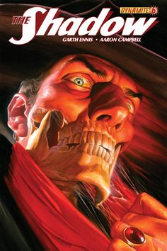 The Shadow #6. Cover by Alex Ross.