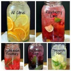 Refreshing fruit water no sugar added.
