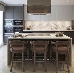 Nice modern kitchen from the amazing sophiepatersoninteriors