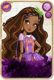 Black Fangirls Unite: Ever After High (from the creators of Monster High) is a story about the sons and daughters of fairy tale characters who are expected to follow their parents' stories. So Cedar Wood (daughter of Pinocchio) would be expected to follow her father's footsteps and be the next Pinocchio. It's better explained here.   https://www.youtube.com/watch?v=I1JcWRqBq9c
