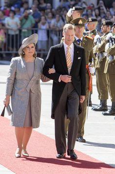 Dress code rose et bleu au Grand-Duché du Luxembourg