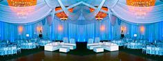 pipe and drape wedding - Google Search