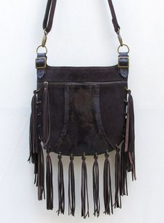Bolso de flecos de Kavekanem por DaWanda.com